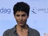 Jasmin Gerat Gesicht face Kopf Produzentenfest Produzentenallianz Regen Kongresshalle Hutschachtel WestBerlin Berichterstatter