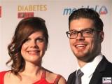 Jennifer Fuchsberger, Julien Fuchsberger Gesicht Promi 6. Deutsche Diabetes Charity Gala diabetesDE Tipi Kanzleramt Berlin Berichterstatter