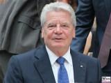Joachim Gauck Gesicht face Kopf Bundespraesident Schlueterhof Deutsches Historisches Museum Jubilaeum Mitbestimmungsgesetz Berlin Unter den Linden Berichterstatter