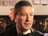 Joachim Llambi Gesicht Promi face Kopf SemperOper Ball Theaterplatz Dresden Berichterstatter