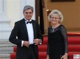 Joe Kaeser, Rosemarie Kaeser Promi Siemens Queen Besuch Schloss Bellevue Berlin 2015