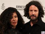 Joy Denalane, Max Herre Gesicht Face Kopf Amnesty Deutschland Verleihung Menschenrechtspreis Maxim Gorki Theater Berlin