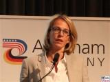 Julia Jaeckel Gesicht Face Kopf CEO Gruner Jahr AmCham Germany Berlin #digitaltransformation