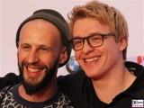 Julian Paul Schmit Daniel Karelly Gesicht Promi Deutscher Musikautorenpreis GEMA Ritz Carlton Potsdamer Platz Berlin