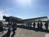 Junkers Ju 52 Tante Ju Berlin Tempelhof ILA Luft und Raumfahrt Ausstellung Berlin Schoenefeld airport Berichterstattung