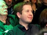 Juso-Chef Kevin Kuehnert SPD Portrait Gesicht Laecheln Motorwerk Berlin Jubilaeumsfeier 30 40 Jahre BUENDNIS, DIE GRUENEN Weissensee Berlin Berichterstattung Trendjam