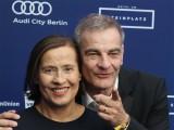 Jutta Schafmeister, Heinrich Schafmeister Gesicht Promi face Kopf Teppich Verleihung Deutscher Schauspielpreis ZOO Palast Berlin Breitscheidplatz Berichterstattung TrendJam