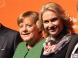 Kanzlerin Merkel, Manuela Schwesig ITB MeckVopo Berlin Funkturm Reise Urlaub Berichterstatter
