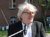 Prof. Dr. Karl Max Einhaeupl,Gesicht kopf face promi autonomes Fahren Charite Campus Projekt Test Kleinbus Mitte Virchow Klinik Berichterstatter