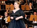 Katarzyna Dondalska Gesicht Promi Kopf Buehne Jubilaeum 25 Jahre Classic Open Air Gendarmenmarkt Berlin Orchester Berichterstatter
