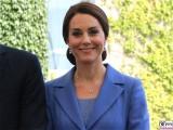 Kate, Gesicht laechelt Kopf Catherine Duchess of Cambridge Empfang BundesKanzleramt Berlin Berichterstatter