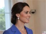 Kate, Gesicht laechelt rechts Kopf Catherine Duchess of Cambridge Empfang Bundespräsident Schloss Bellevue Berlin Berichterstatter
