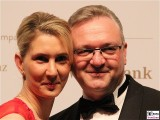 Kathrin Bernikas, Frank Henkel Gesicht face Kopf VBKI Ball der Wirtschaft Hotel Intercontinental Berlin