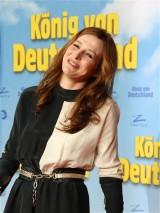 Katrin Bauerfeind Fotowand Premiere Koenig von Deutschland Berlin Kino International Karl Marx Allee