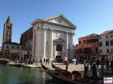 Kirche von San Barnaba Venedig Italien