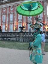 Kostuem Neues Palais Besucherbetreuung Sans souci nachts Park Sanssouci XV Potsdamer Schloessernacht Potsdam