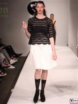 LANIUS Kleid 1 Fashion Week Salonshow Greenshowroom MBFWB EthicalFashionShow Postbahnhof FashionWeek