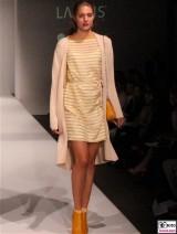 LANIUS Kleid 10 Fashion Week Salonshow Greenshowroom MBFWB EthicalFashionShow Postbahnhof FashionWeek
