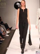 LANIUS Kleid 3 Fashion Week Salonshow Greenshowroom MBFWB EthicalFashionShow Postbahnhof FashionWeek