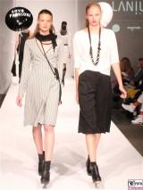 LANIUS Kleid 5,6 Fashion Week Salonshow Greenshowroom MBFWB EthicalFashionShow Postbahnhof FashionWeek