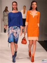 LANIUS Kleid 7,8 Fashion Week Salonshow Greenshowroom MBFWB EthicalFashionShow Postbahnhof FashionWeek
