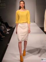 LANIUS Kleid 9 Fashion Week Salonshow Greenshowroom MBFWB EthicalFashionShow Postbahnhof FashionWeek