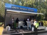 LOGPAY payment station Exponat INNOTRANS Messe Berlin Berichterstattung Trendjam