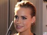 Lara Isabelle Rentinck Gesicht Laecheln Promi Hotel de Rome Praesentation Lambertz Fine Art Kalender 2016 La Dolce Vita Berlin