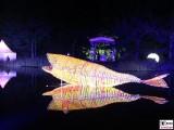 Leucht Fisch Teich Schloss Bellevue Buergerfest Schlosspark Berlin Bundespraesident Berichterstatter