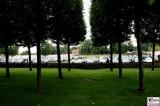 Limousinen Parkplatz Botschafter Empfang Diplomatisches Corps Schlosspark Meseberg Berichterstatter