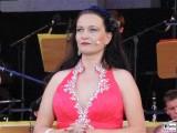 Lisa Tjalve Gesicht Promi face Classic Open Air Gendarmenmarkt Sommer Berlin