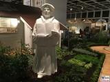 Luther Skulptur Blumenhalle Lutherjahr Garten Internationale Gruene Woche Messe Berlin Berichterstatter