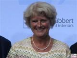 MDB Monika Gruetters Gesicht Kopf Produzentenfest Produzentenallianz Regen Kongresshalle Hutschachtel WestBerlin Berichterstatter
