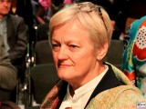 MDB Renate Kuenast Portrait Gesicht Gruene Motorwerk Berlin Jubilaeumsfeier 30 40 Jahre BUENDNIS, DIE GRUENEN Weissensee Berlin Berichterstattung Trendjam