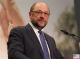 Maerin Schulz Gesicht face Kopf Promi BM Redner Programmkonferenz Europa SPD Berlin Gasometer Berichterstatter