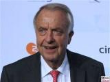 Manfred Neumann Gesicht face Kopf Produzentenfest Produzentenallianz Regen Kongresshalle Hutschachtel WestBerlin Berichterstatter