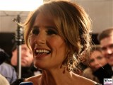 Mareile Hoeppner Moderation Gesicht Promi face Kopf SemperOper Ball Theaterplatz Dresden Berichterstatter