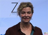 Margarita Broich Gesicht face Kopf Produzentenfest Produzentenallianz Regen Kongresshalle Hutschachtel WestBerlin Berichterstatter