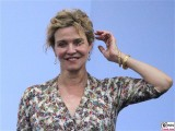 Margarita Broich Gesicht face Kopf Produzentenfest Sommerparty Produzentenallianz Summerparty Kongresshalle WestBerlin Berichterstatter