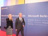 Martina Krogmann, Norbert Röttgen Eroeffnung Microsoft Center Berlin Unter den Linden