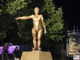 Maschinen Maria Statue Filmfigur Fritz Lang Filmpark Babelsberg Grossbeerenstrasse Filmparknacht