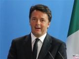 Matteo Renzi Kopf Portrait Face Gesicht Präsident Frankreich Kanzleramt Berlin BREXIT
