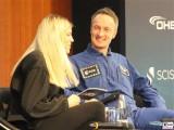 Matthias Maurer Gesicht Astronaut Interview @Explornaut 1.Weltraumkongress BDI Berlin 2019 Hauptstadt Berichterstattung TrendJam