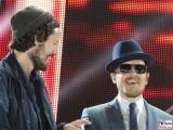 Max Herre, Jan Delay Gesicht Promi face Mikro Panik Rock Olympia StadionTour Arena Berlin