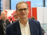 Michael Mueller-Gesicht-Promi-SPD-Regierender Buergermeister von Berlin Bundesparteitag-Berlin-CityCube-Messe-Berlin-Berichterstattung-TrendJam