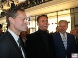 Michael Mueller, Harald Huth, Klaus Wowereit opening The Mall of Berlin LP12 Eroeffnung Leipziger Platz Berlin