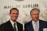 Michael Mueller, Klaus Wowereit opening The Mall of Berlin LP12 Eroeffnung Leipziger Platz Berlin