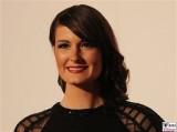 Michaela Kiermair Gesicht face Kopf Promi Jose Carreras Gala Hotel Estrell Berlin SAT.1GOLD Berichterstatter