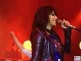 NENA Kerner lacht Auftritt Promi Schloss Bellevue Berlin Bundespraesident Buergerfest Park Ehrenamt