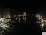 Nacht Ponte di Rialto Sestiere San Polo Venedig Italien